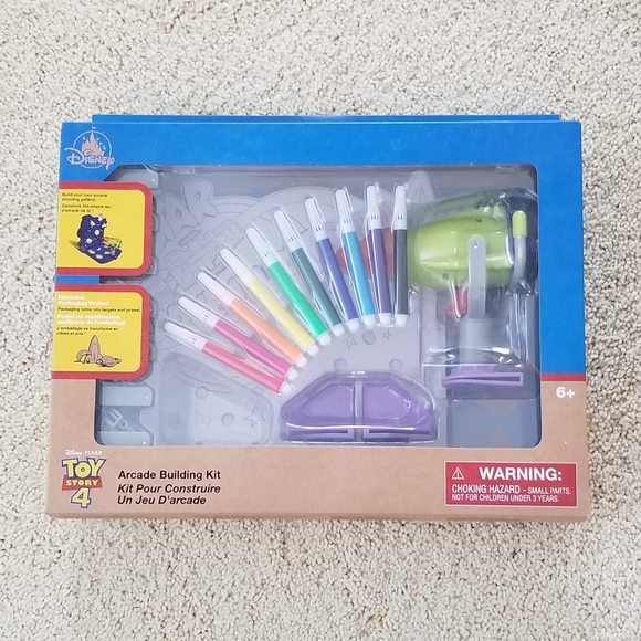 Disney Toy Story Fun Coloring and Play Fun Set